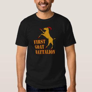 First Goat Battalion T-shirts