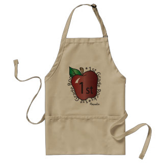 First Grade Personalize | School Standard Apron
