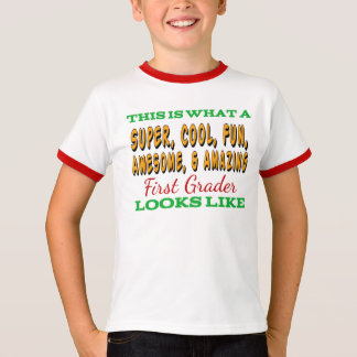 First Grade Shirt | Awesome First Grader