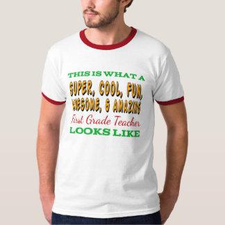 First Grade Teacher | Awesome First Grade Teacher T-Shirt