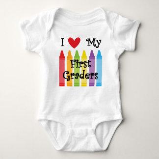 first grade teacher baby bodysuit