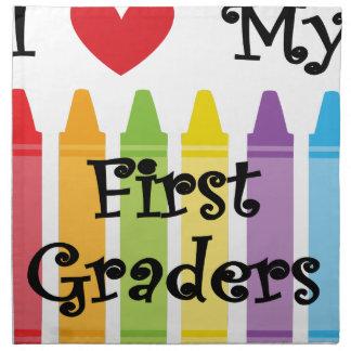 first grade teacher napkin
