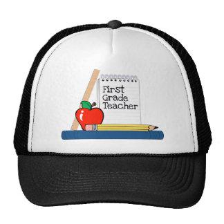 First Grade Teacher (Notebook) Trucker Hats
