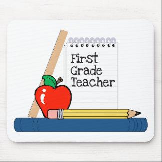 First Grade Teacher (Notebook) Mouse Pad
