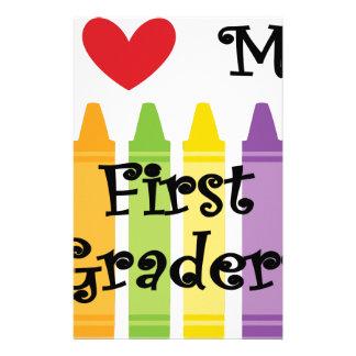 first grade teacher stationery