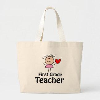 First Grade Teacher Tote Bag