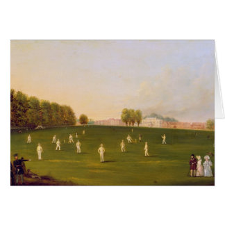 First Grand Match of cricket played by members of Card