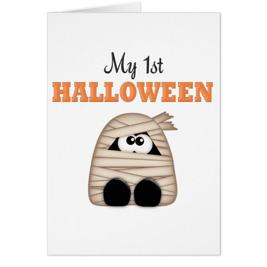 First  Halloween Card