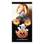 First Halloween Photo Card