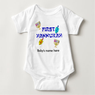First Hannukah customize T-Shirt