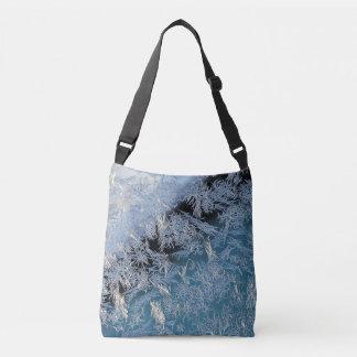 First Hard Frost Photographic Art Crossbody Bag