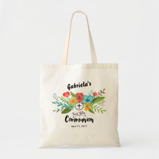 First Holy Communion Floral | Tote