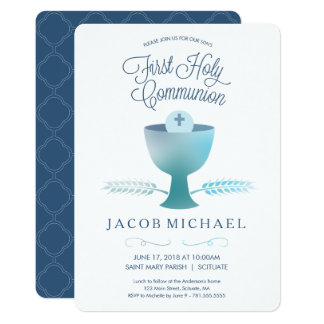First Holy Communion Invitation -