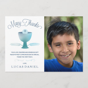 First Communion Thank You Gifts On Zazzle Au