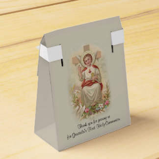 First Holy Communion Traditional Jesus Children Favour Box
