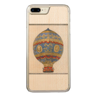 First Human Hot Air Balloon Carved Carved iPhone 7 Plus Case
