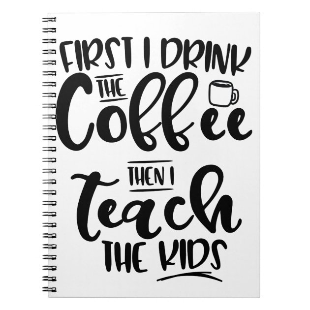 Coffee First Notepad | Beanstalk Mums