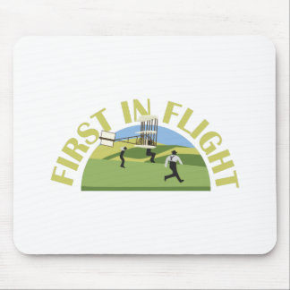 First in Flight Mouse Pad