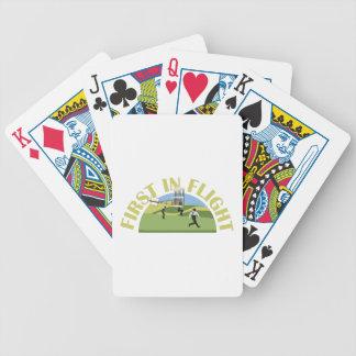 First in Flight Poker Deck