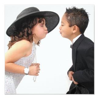 First Kiss Invitation