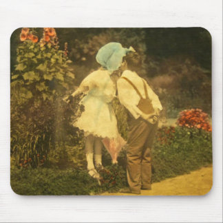 First Kiss of the Spring Mouse Pad