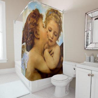 First Kiss Shower Curtain