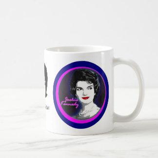 First Lady Jacqueline Kennedy Basic White Mug