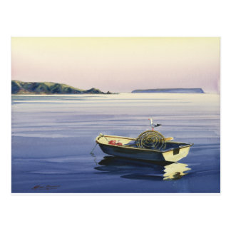 First Light - Plimmerton,& Mana island Postcard