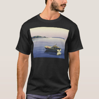 First Light - Plimmerton,& Mana island T-Shirt