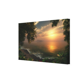 """First Light"" Wrapped Canvas"
