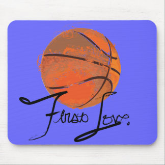 First Love: Basketball Mouse Pad