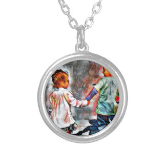 First Love Silver Plated Necklace