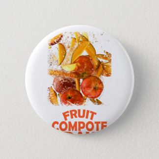 First March - Fruit Compote Day - Appreciation Day 6 Cm Round Badge