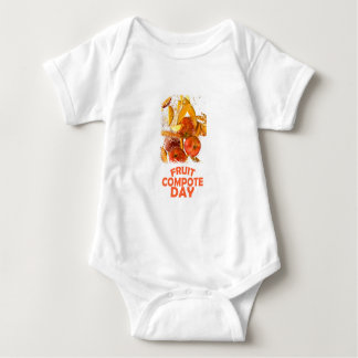 First March - Fruit Compote Day - Appreciation Day Baby Bodysuit