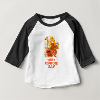 First March - Fruit Compote Day - Appreciation Day Baby T-Shirt