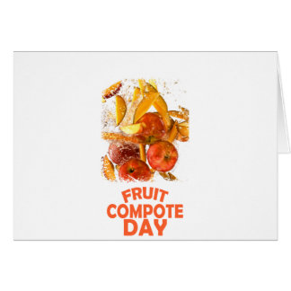 First March - Fruit Compote Day - Appreciation Day Card