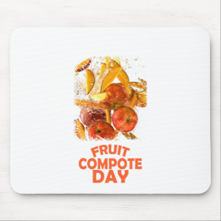 First March - Fruit Compote Day - Appreciation Day Mouse Pad