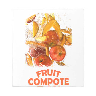 First March - Fruit Compote Day - Appreciation Day Notepad
