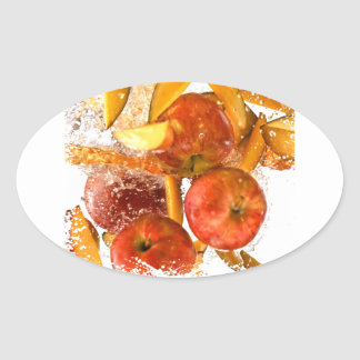 First March - Fruit Compote Day - Appreciation Day Oval Sticker