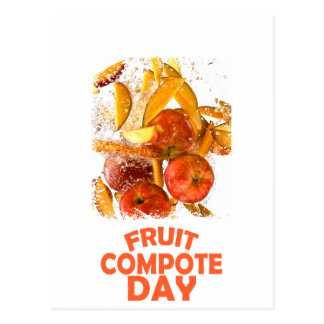 First March - Fruit Compote Day - Appreciation Day Postcard