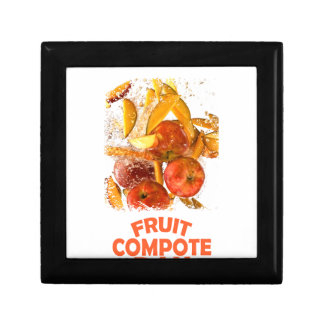 First March - Fruit Compote Day - Appreciation Day Small Square Gift Box