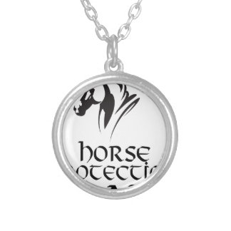 First March - Horse Protection Day Silver Plated Necklace