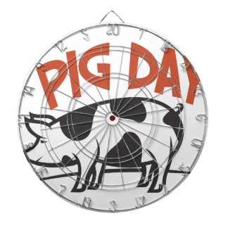 First March - Pig Day Dartboard