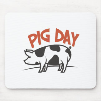 First March - Pig Day Mouse Pad