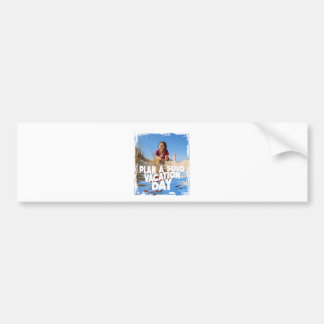 First March - Plan A Solo Vacation Day Bumper Sticker