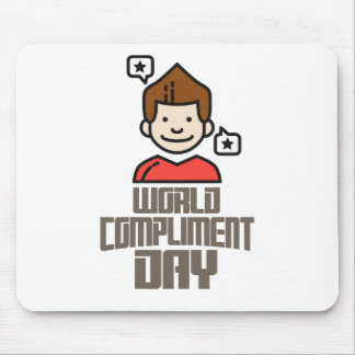 First March - World Compliment Day Mouse Pad