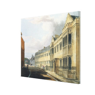 First Master's House, Harrow School, from 'History Gallery Wrap Canvas
