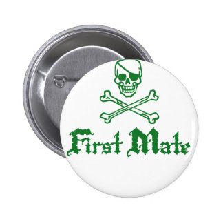 First Mate 6 Cm Round Badge