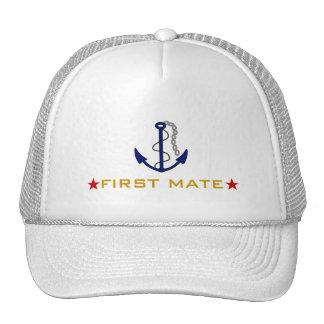 First Mate Boater Cap