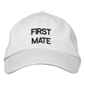 FIRST MATE HAT BASEBALL CAP